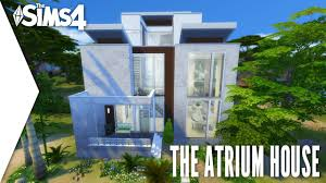 the sims 4 speed build 249 the atrium house youtube