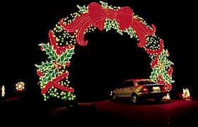 yukon ok christmas lights christmas lights displays in the south 2017