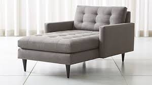 Sofa Bed Chaise Lounge Chaise Lounge Sofas Crate And Barrel