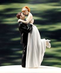 wedding cake toppers bride and groom