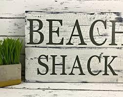 Vintage Beach Decor Beach Welcome Sign Etsy