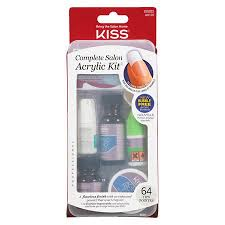 kiss complete salon acrylic nail kit walgreens