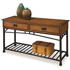 Oak Sofa Table Home Styles 5050 22 Modern Craftsman Sofa Table