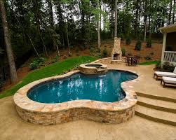 small pools and spas atlanta pool builder freeform in ground swimming pool photos