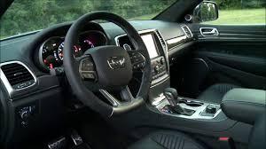jeep grand cherokee interior 2017 jeep grand cherokee srt 475hp interior exterior and drive