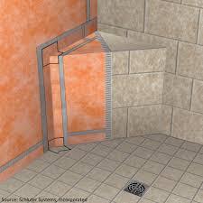 kerdi shower at the kerdi shower system tiling contractor