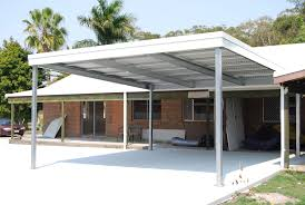 carports pergola carport plans slant roof carport skillion