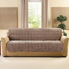 Armless Sofa Beds Deluxe Comfort Quilted Armless Sofa Slipcover Sure Fit Target