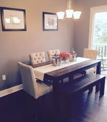 Dining Room Bench Seating Ideas Dining Table Dining Table Upholstered Bench Seat Timber Dining
