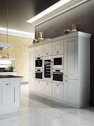 kitchen stand alone cabinets distinctive metallic hoods and modular flexibility shape classy