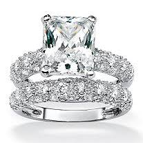 engagement rings and wedding band sets wedding rings wedding ring sets cubic zirconia wedding rings