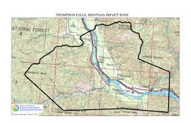 Montana State Map by Montana Deq U003e Air U003e Airquality U003e Planning U003e Montanasmokemgntimpactzone