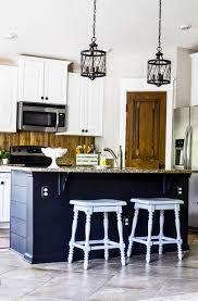 The Coastal Kitchen - white coastal kitchen reveal slightly coastal