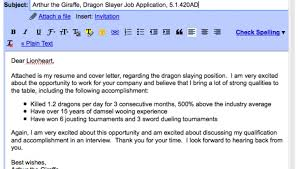 perfect how to write email with cover letter and resume attached