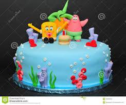 sponge bob cake editorial stock image image 46929254