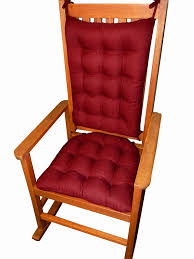 amazon com porch rocker cushions rave ruby red size standard