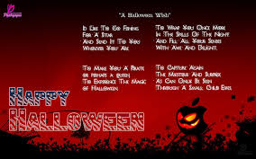 Halloween Boo Bag Poem Halloween Poems With Happy Halloween Wishes Cards For Facebook