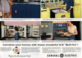 Kitchen Cabinet Refrigerator Wall Cabinet Refrigerator 1956 Sociological Images