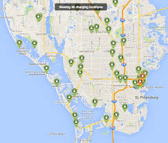 Map Of St Petersburg Florida by A Brief Comparison Of Ev Charging Availability City To City