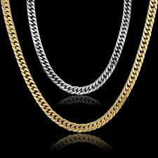 curb chain necklace mens images Gold chain for men hip hop jewelry stainless steel curb chain jpg