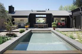 a modern home within quiet agrarian wine country style san