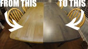 Easy Way To Refinish Kitchen Cabinets Refinishing The Kitchen Table Worn Out Craigslist To Clean And