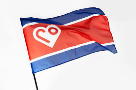 Korea Flag Icon North Korea Rebrand On Behance