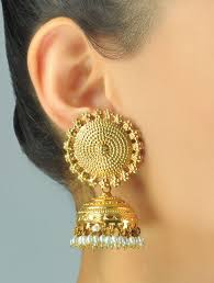 jhumka earrings online shopping buy sooryan jhumka earrings online at jaypore