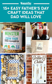 16 cute father u0027s day crafts for kids to make easy diy gifts for