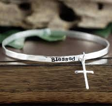 cross bangle bracelet images 226 best personalized bangle bracelets images charm jpg