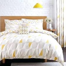Navy And Yellow Bedding Blue And Yellow Striped Duvet Cover 3pieces Color Green Yellow