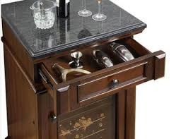 Wine Cabinet With Cooler by Wine Cooler Cabinet Walnut Veneer Wine Boxes Inside The Wine