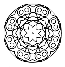 free printable mandala coloring coloring pages kids