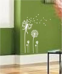 dandelion wall decal 2017 grasscloth wallpaper dandelion spore art vinyl wall decal mural sticker