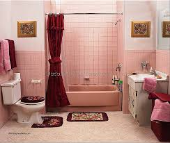 Bathrooms With Shower Curtains Curtains Decorated Bathrooms With Shower Curtains Inspirational