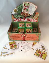 louisiana cajun deck o meals cards todomojo