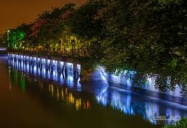 Landscape Lighting Wall Wash - outdoor linear led wall washer lights cree design idea building