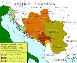 post ww1 map dalmatia occupation post ww1 1918 1922 dead country