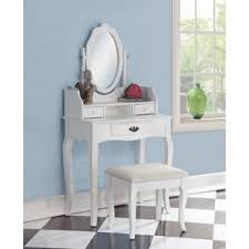 Wood Vanity Table Makeup Tables And Vanities You U0027ll Love Wayfair