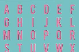 cutout alphabet letters web elements creative market