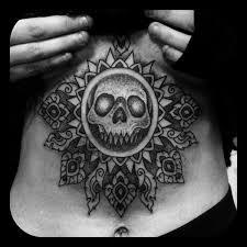 mandala tattoo glasgow apocalyptical tattooing at timeless tattoo glasgow king of bones