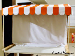 How To Make Awnings Creative Mommas How To Make An Awning For A Party Dessert Table