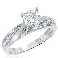 cheap white gold wedding rings wedding rings for women white gold wedding promise diamond