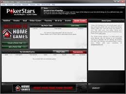 creating a poker club with pokerstars home games