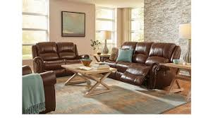leather livingroom set 2 299 99 abruzzo brown 5 pc leather living room classic