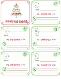 coupon book template homemade coupon template gift certificate