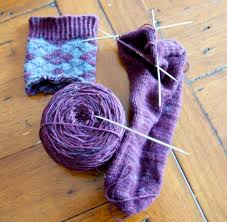 knitting fail sneaky argyle socks knit three together