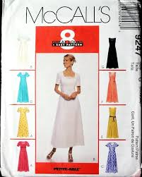 plus size easy princess seams long dress misses or miss petite