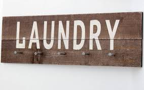 Rustic Laundry Room Decor by Rustic Laundry Sign Laundry Room Sign Wooden Laundry Signs