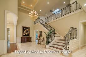 interior design for new construction homes arcadia new construction home staging entry moving mountains